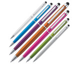 Plastic ball pen with touch function